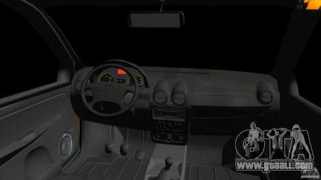 Lada Granta for GTA Vice City back view