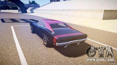 Dodge Charger RT 1969 v1.0 for GTA 4 back left view