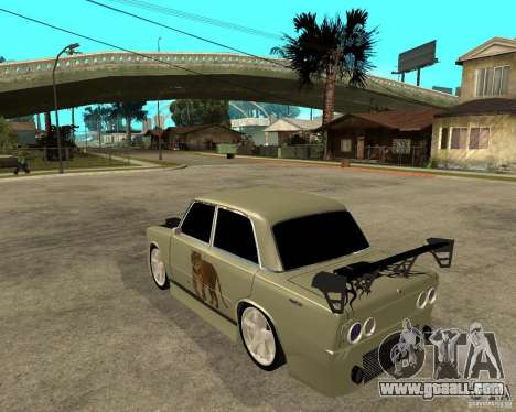 Vaz 2101 D-LUXE for GTA San Andreas left view