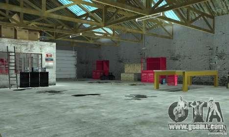 GTA SA Enterable Buildings Mod for GTA San Andreas third screenshot