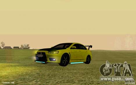 Mitsubishi Lancer Evolution Drift for GTA San Andreas