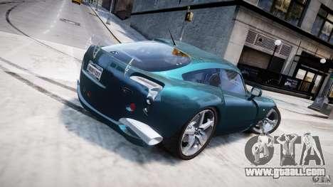 TVR Sagaris for GTA 4 upper view