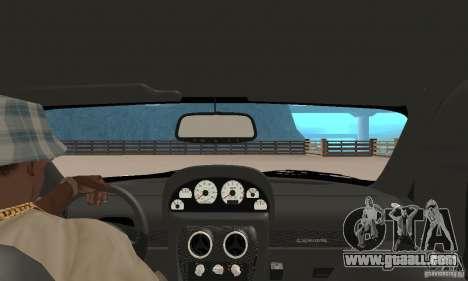 Panoz Esperante GTLM 2005 for GTA San Andreas back view