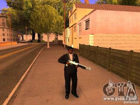 TeK Weapon Pack for GTA San Andreas second screenshot