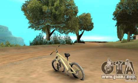 Specialized P.3 Mountain Bike v 0.8 for GTA San Andreas back left view