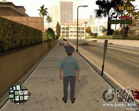 Russian police skin for GTA San Andreas forth screenshot