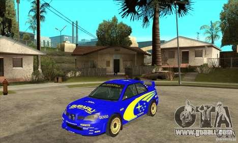 Subaru Impreza STi WRC wht2 for GTA San Andreas