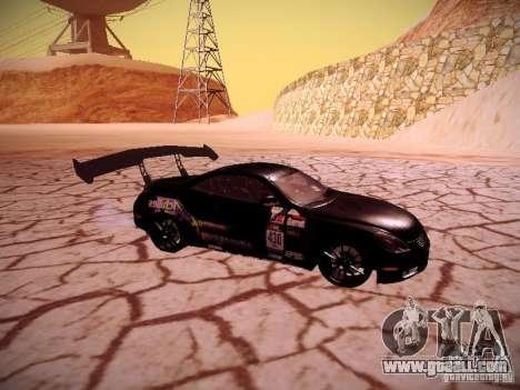 Lexus SC430 Daigo Saito for GTA San Andreas right view