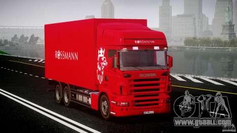 Scania R580 Tandem for GTA 4