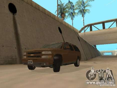 Chevrolet Suburban 2003 for GTA San Andreas