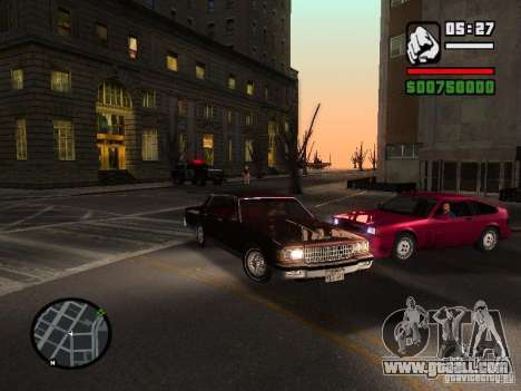 Chevrolet Caprice Classic 87 for GTA San Andreas right view