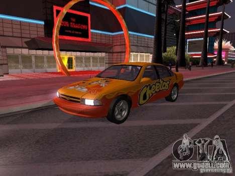 Chevrolet Impala SS 1995 for GTA San Andreas wheels