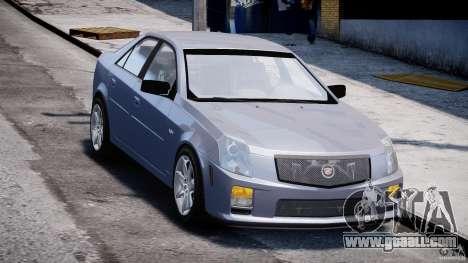 Cadillac CTS-V for GTA 4