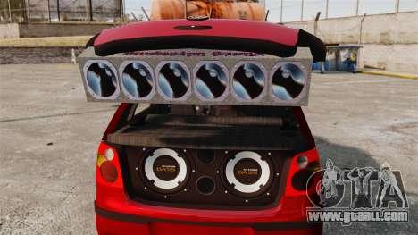 Volkswagen Polo Edit for GTA 4