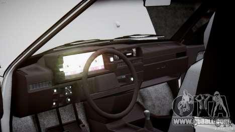 VAZ 21083i for GTA 4 bottom view