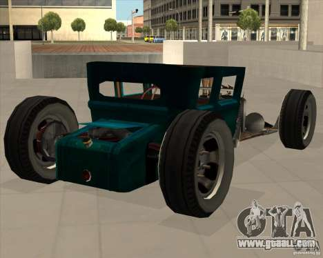 Ford model T 1925 ratrod for GTA San Andreas right view