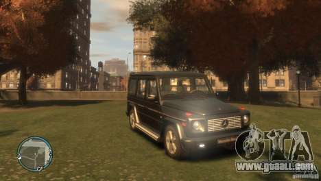 Mercedes-Benz G500 for GTA 4 left view