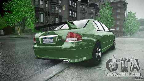 Ford Falcon XR8 2007 Rim 1 for GTA 4 side view