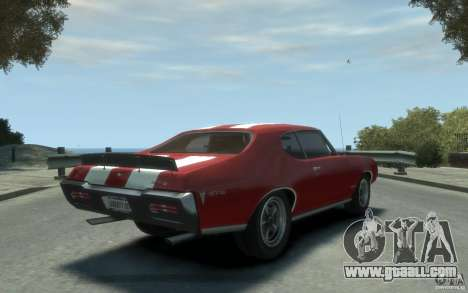 Pontiac GTO Hardtop 1968 v1 for GTA 4 right view