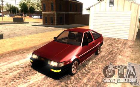Toyota Corolla Levin GTV 3-door (AE86) for GTA San Andreas
