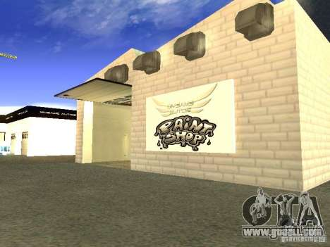 [HD] Network Of Garages MyGame Autos for GTA San Andreas fifth screenshot