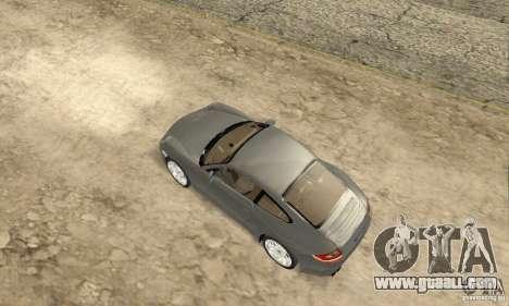 Porsche Carrera S 2009 for GTA San Andreas