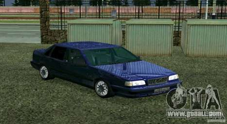 Volvo 850 for GTA San Andreas back left view