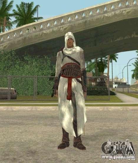 Assassins skins for GTA San Andreas fifth screenshot