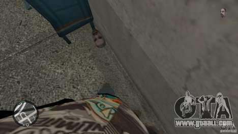 Granate teste mozzate for GTA 4 fifth screenshot