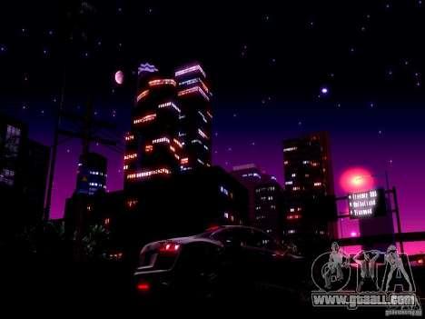 Starry sky V 2.0 (single player) for GTA San Andreas