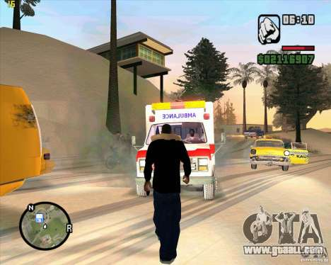 Ambulance for GTA San Andreas third screenshot