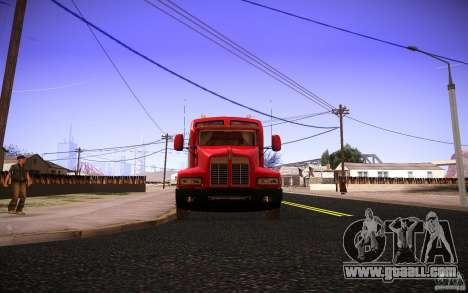 Kenworth T600 for GTA San Andreas upper view