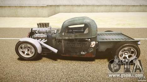 Ford Ratrod 1936 for GTA 4 inner view