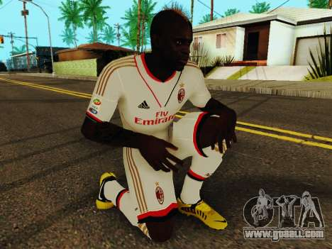 Mario Balotelli v2 for GTA San Andreas fifth screenshot