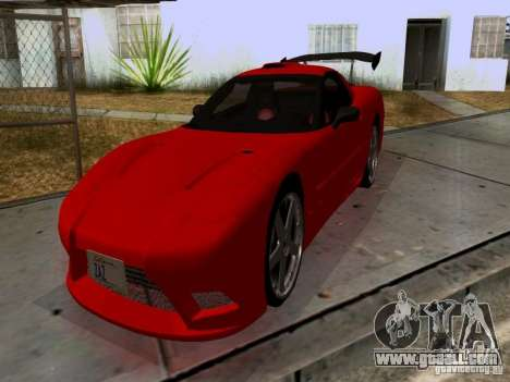 Chevrolet Corvette C5 for GTA San Andreas