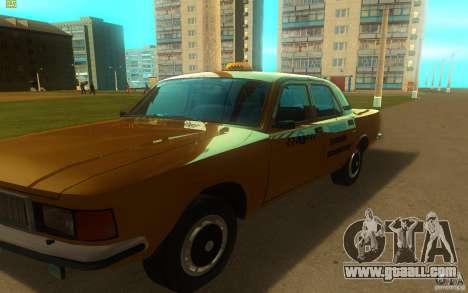 GAZ Volga 3102 Taxi for GTA San Andreas left view
