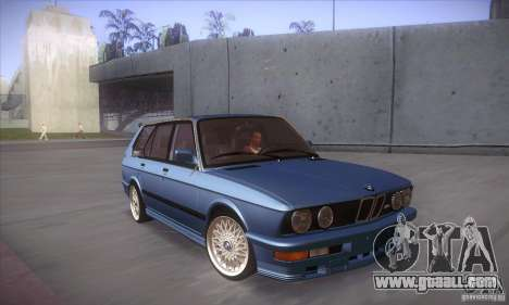 BMW E28 Touring for GTA San Andreas inner view