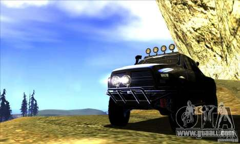 Dodge Ram All Terrain Carryer for GTA San Andreas