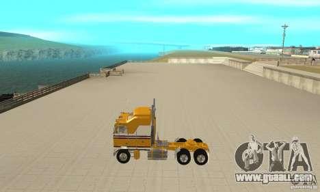 Kenworth K100C Aerodyne for GTA San Andreas left view