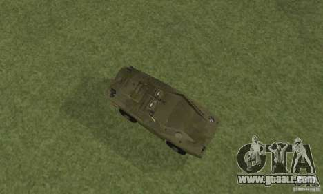 BRDM-1 Skin 4 for GTA San Andreas back view