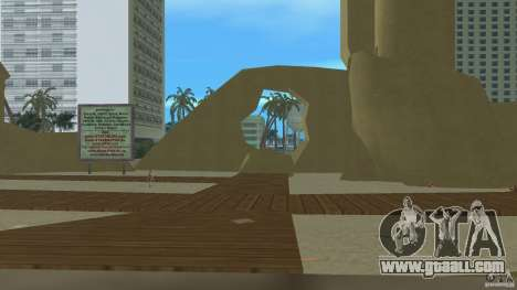 Vice City Beach-Park for GTA Vice City third screenshot