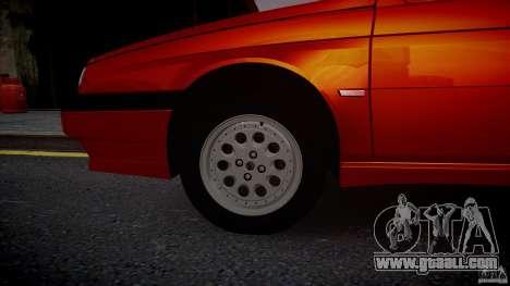 Alfa Romeo 155 Q4 1992 for GTA 4 right view