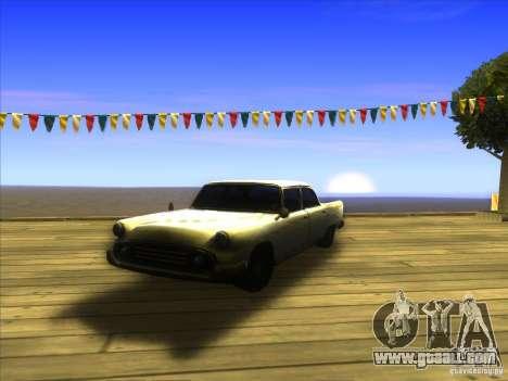 Glendale - Oceanic for GTA San Andreas inner view