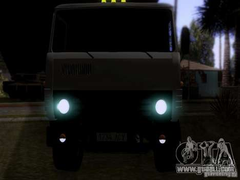 KAMAZ 53212 milk tanker for GTA San Andreas back view
