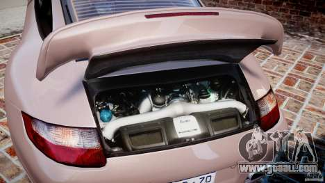 Porsche 911 (997) Turbo v1.0 for GTA 4 back view