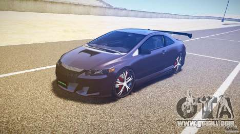 Honda Civic Si Tuning for GTA 4