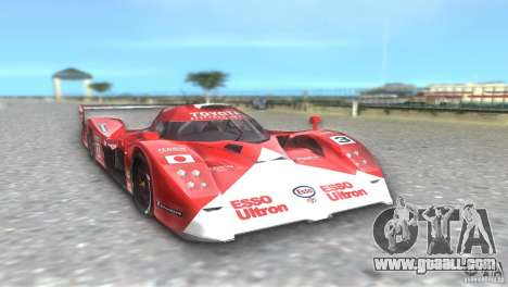 Toyota GT-One TS020 for GTA Vice City