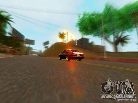 Toyota Corolla Carib AE86 for GTA San Andreas right view