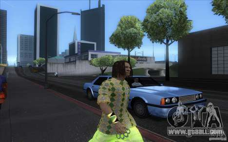 Rasta ped for GTA San Andreas forth screenshot