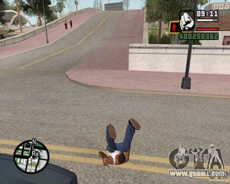 GTA 4 Anims for SAMP v2.0 for GTA San Andreas eighth screenshot
